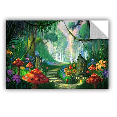 ArtWall Hidden Treasure Art Appeelz Removable Wall Art Graphic 16 x 24 (0str009a1624p)