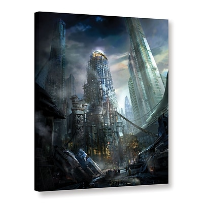ArtWall Industrialize Gallery-Wrapped Canvas 18 x 24 (0str011a1824w)