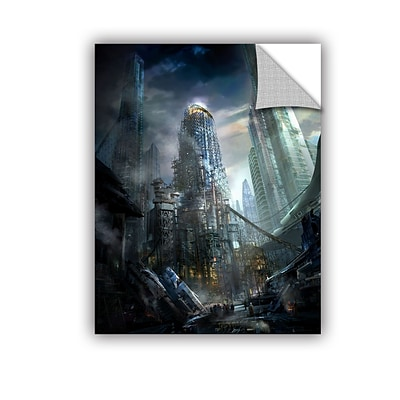 ArtWall Industrialize Art Appeelz Removable Graphic Wall Art 18 x 24 (0str011a1824p)