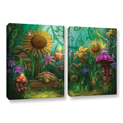 ArtWall Meet The Imaginaries 2-Piece Gallery-Wrapped Canvas Set 18 x 28 (0str012b1828w)