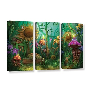 ArtWall Meet The Imaginaries 3-Piece Gallery-Wrapped Canvas Set 36 x 54 (0str012c3654w)