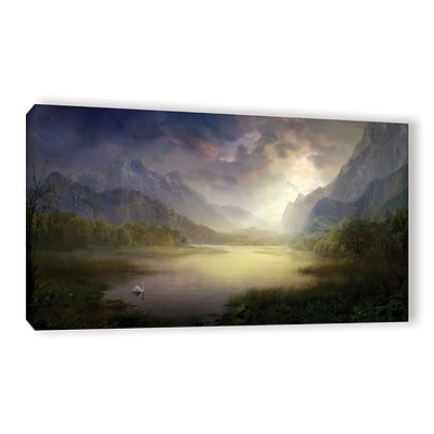 ArtWall Silent Morning Gallery-Wrapped Canvas 24 x 48 (0str015a2448w)