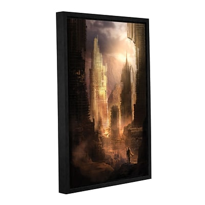 ArtWall The Arrival Gallery-Wrapped Canvas 32 x 48 Floater-Framed (0str017a3248f)
