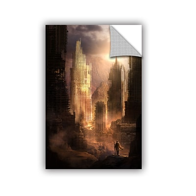 ArtWall The Arrival Art Appeelz Removable Wall Art Graphic 32 x 48 (0str017a3248p)