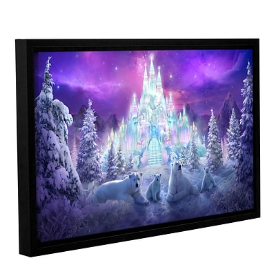 ArtWall Winter Wonderland Gallery-Wrapped Canvas 16 x 24 Floater-Framed (0str020a1624f)