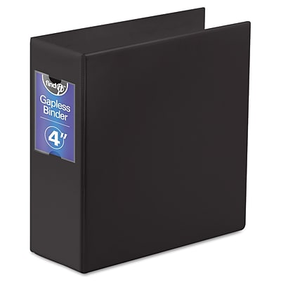 Find It™ Gapless Loop Ring Binder, 8 1/2 x 11, Non-View, Each (FT07094)