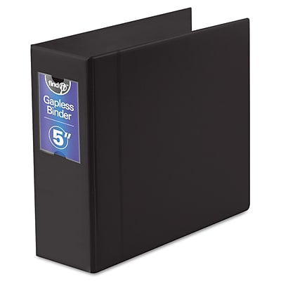 Find It™ Gapless Loop Ring Binder, 8 1/2 x 11, Non-View, Each (FT07095)