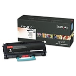 Lexmark™ X264A21G Toner; 3500 Page-Yield, Black