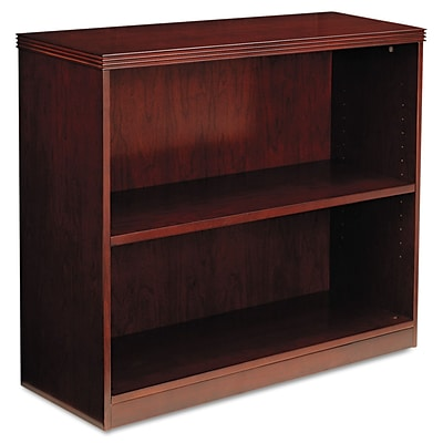 Mayline® Luminary Collection in Cherry; Bookcase, 2 Shelf