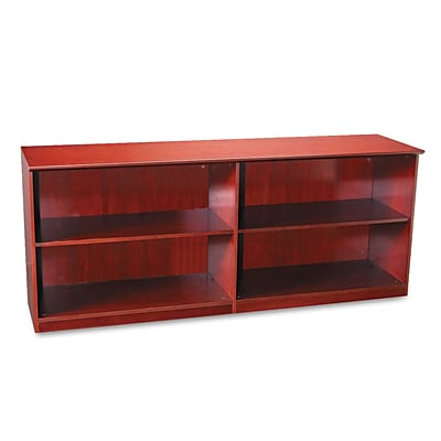 Mayline® 29 1/2 Low Wall Cabinet Without Doors, Sierra Cherry