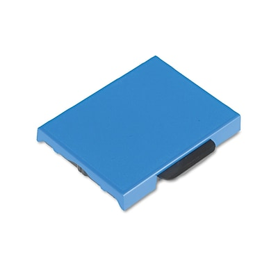 Identity Group Replacement Ink Pad for Trodat Self-Inking Custom Dater, Blue, Each (5107)