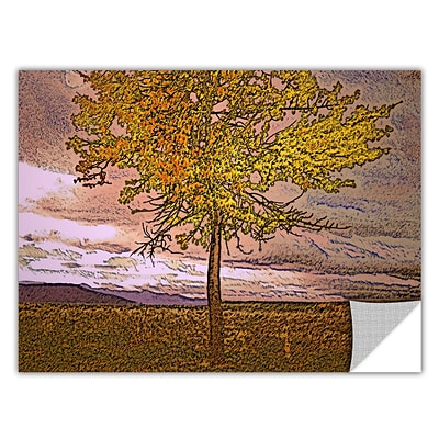 ArtWall Teton Meadow Fall Removable Graphic Wall Art 24 x 32 (0uhl098a2432p)