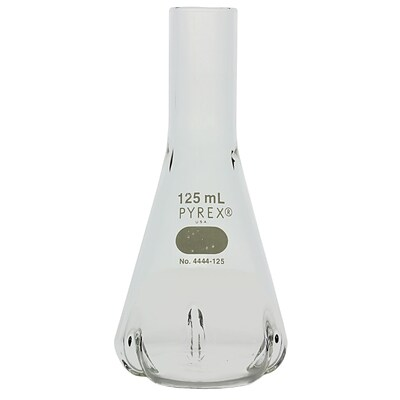 Pyrex Erlenmeyer Flask, 125ml, 5.51