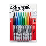Sharpie® Retractable Permanent Markers; Ultra Fine, Asstd 8Pk