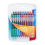 Paper Mate® InkJoy® 300 Retractable Ballpoint Pen, Medium Point, Assorted, 24/pk (1781568)