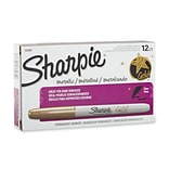 Sharpie® Gold Metallic Permanent Markers