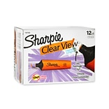 Sharpie® Clear View Highlighters; Chisel Tip, Orange