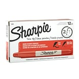 Sharpie® Red Twin-Tip Permanent Markers