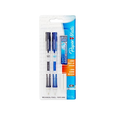 Paper Mate® ClearPoint® Mechanical Pencil Starter Set, 0.5mm, 2/pk (34666PP)