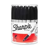 Sharpie® Fine Point Permanent Markers; Black, 36/Pack