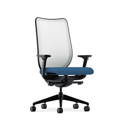 HON® Nucleus® Knit Mesh Back Office/Computer Chair, Adjustable Arms, Inertia Regatta Fabric