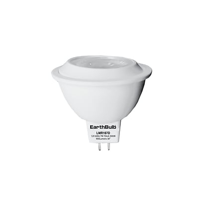 EarthBulb® MR16 7W 500LM 3000K 38 degree Dimmable 6 Pack