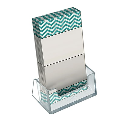 Azar Displays Vertical Business Card Holder 10pack Quill