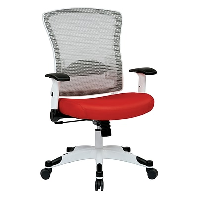 Space Seating Pulsar Nylon & Mesh Managers Chair, Red