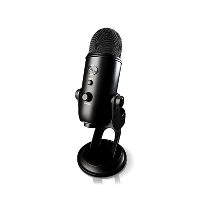 Blue Microphones Yeti Professional USB Microphone, Blackout