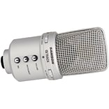Samson® GM1U G-Track USB Condenser Microphone with Audio Interface; Silver