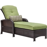 Hanover Strathmere Outdoor Luxury Chaise Lounge, Cilantro Green (STRATHCHS)