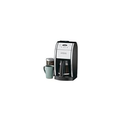 Cuisinart® Grind & Brew™ 12 Cup Automatic Coffeemaker With Grinder Chamber; Black