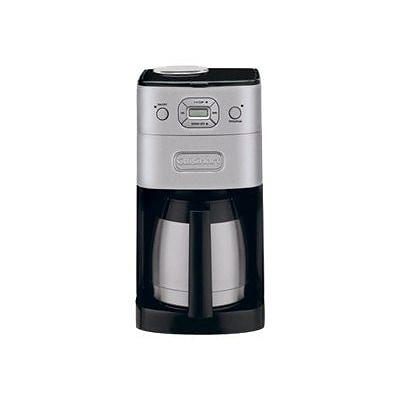 Cuisinart® Grind & Brew Thermal® 10 Cup Automatic Coffeemaker; Silver/Black