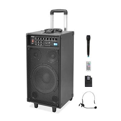 PyleHome PWMA1090UI Wireless and Portable PA Speaker Sound System