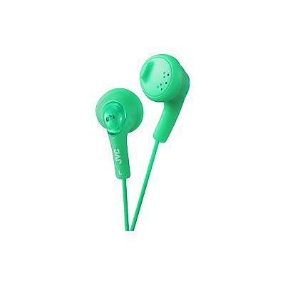 JVC Gumy HAF160 Earbud Headphone; Green