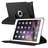 Swivel Book Leather CVR CS Stnd iPad Blk