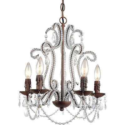 AF Lighting Beloved Five Light Mini Chandelier (51955H)