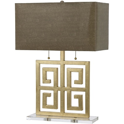 AF Lighting Santorini Table lamp, Gold (8463TL)