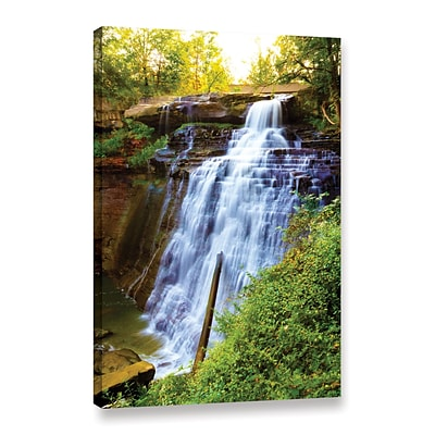 ArtWall Brandywine Falls Gallery-Wrapped Canvas 12 x 18 (0yor009a1218w)