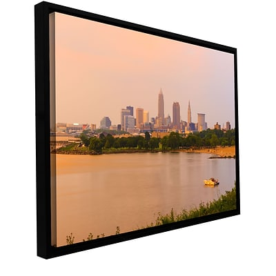 ArtWall Cleveland 19 Gallery-Wrapped Canvas 24 x 36 Floater-Framed (0yor032a2436f)
