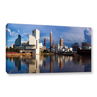 ArtWall Cleveland 20 Gallery-Wrapped Canvas 12 x 24 (0yor033a1224w)