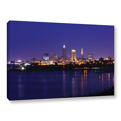 ArtWall Cleveland 18 Gallery-Wrapped Canvas 16 x 24 (0yor031a1624w)