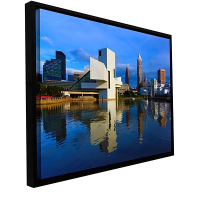 ArtWall Cleveland 2 Gallery-Wrapped Floater-Framed Canvas 24 x 36 (0yor015a2436f)