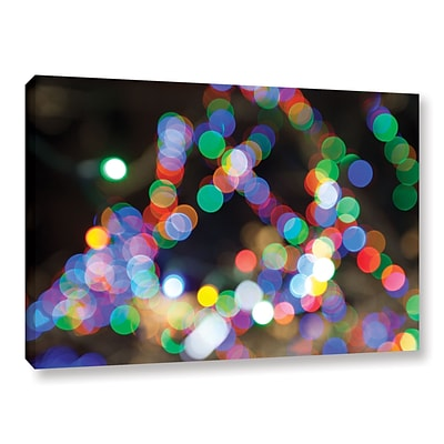 ArtWall Bokeh 1 Gallery-Wrapped Canvas 32 x 48 (0yor005a3248w)