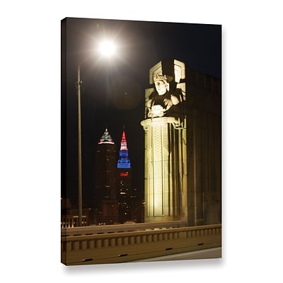 ArtWall Cleveland 6 Gallery-Wrapped Canvas 24 x 36 (0yor019a2436w)