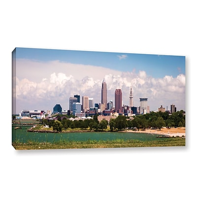 ArtWall More Cleveland Gallery-Wrapped Canvas 18 x 36 (0yor037a1836w)
