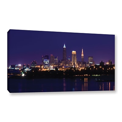 ArtWall Cleveland 16 Gallery-Wrapped Canvas 24 x 48 (0yor029a2448w)