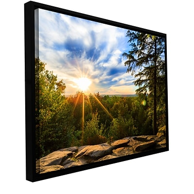 ArtWall Virginia Kendall 2 Gallery-Wrapped Canvas 24 x 36 Floater-Framed (0yor059a2436f)