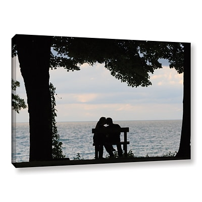 ArtWall Silhouette Gallery-Wrapped Canvas 32 x 48 (0yor055a3248w)