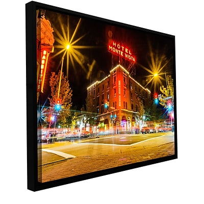 ArtWall Flagstaff Gallery-Wrapped Canvas 24 x 36 Floater-Framed (0yor040a2436f)
